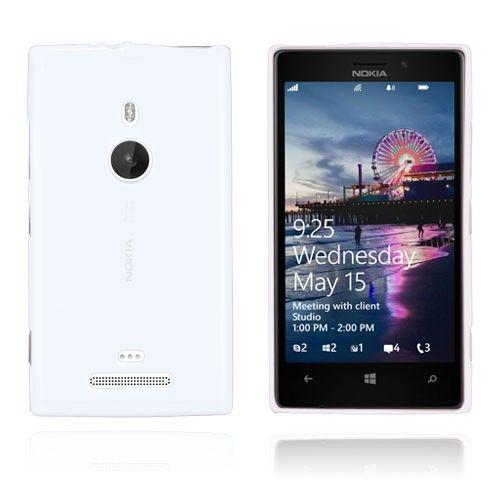 GelCase (Hvit) Nokia Lumia 925 Deksel
