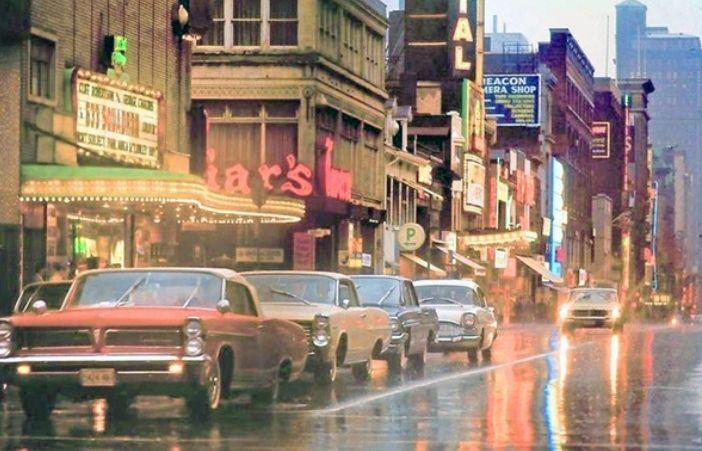 Yonge St. & Dundas Sq. - 1964
