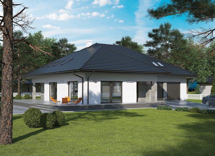 Tymiankowy (podpiwniczony) Murator C329 - duży, wygodny dom dla 5-osobowej rodziny. Do zagospodarowania są aż trzy kondygnacje - obszerna piwnica, przestronny parter oraz wygodne poddasze.
