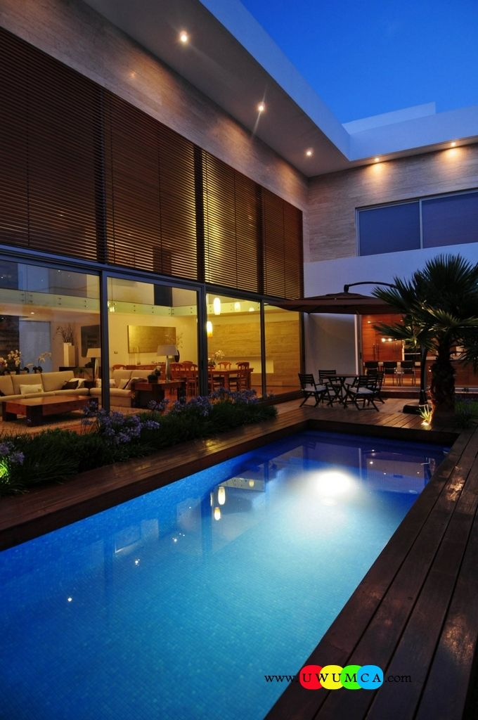 Swimming Pool:Enchanting Swimming Pool Deck Ideas Inground Swimming Pool & Deck Ideas Decorating Pool Deck Design Above Lighting Design Ideas Plus Wood Deck And Large Glass Wall With Sliding Door As Well As Open Plan Home Idea Amazing Swimming Pool Deck Ideas