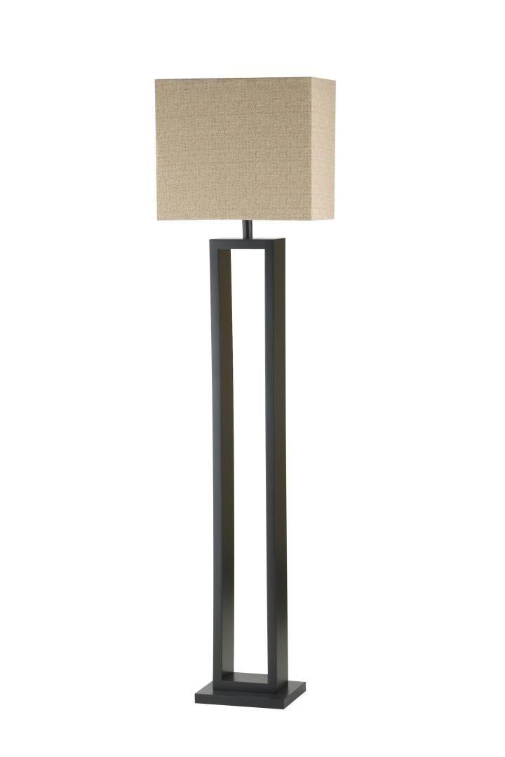 Floor Lamp   Open Square Wood Floor Lamp   Quality Bedroom Furniture