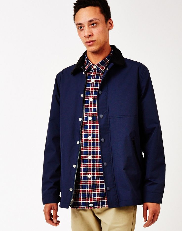 The Hundreds Feather Jacket in Navy | The Idle Man | #StyleMadeEasy