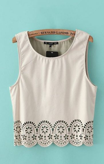 laser cut tank with scalloped bottom