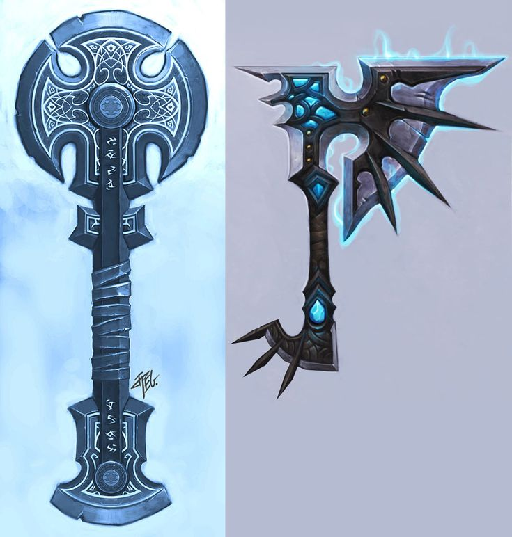 Nexus Axe - Pictures & Characters Art - World of Warcraft: Wrath of the Lich King