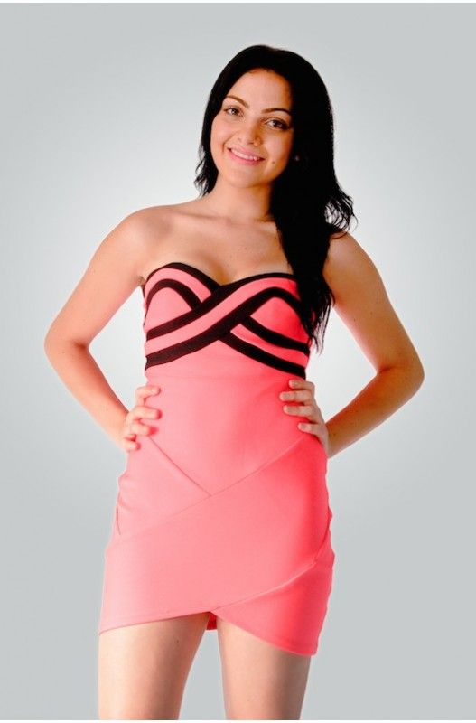 "Bandage Dresses For Women- ""Crushing Candy"" Bandage Dress- Shop the latest fashion bandage dresses online."
