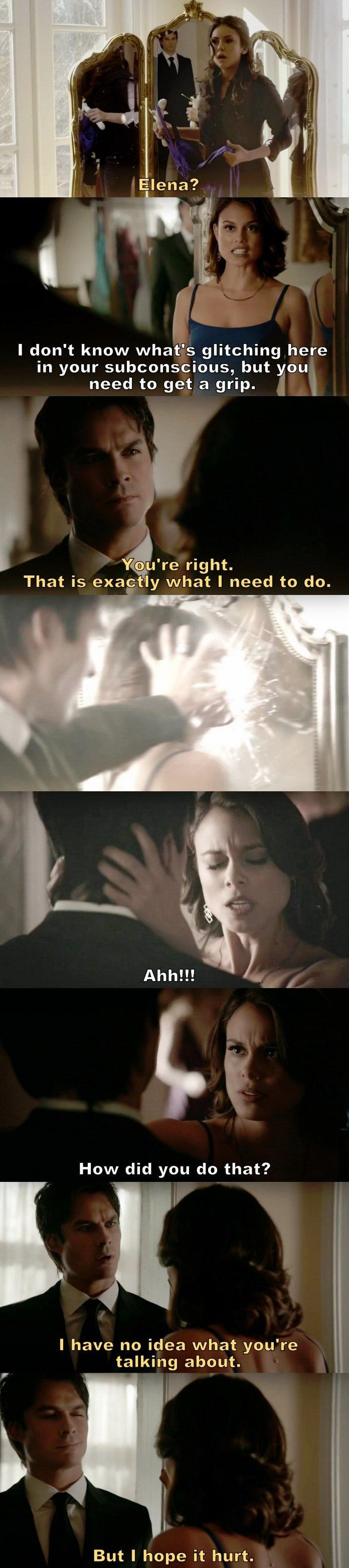 """#TVD 8x09 """"The Simple Intimacy of the Near Touch"""" I didn't watch this episode yet, but I hope Sybil is destroyed!!!"""