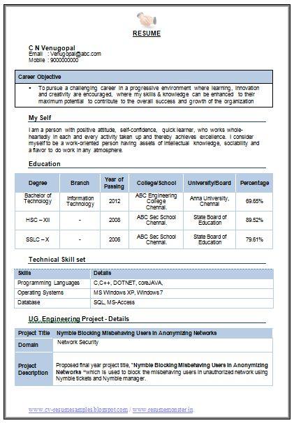 Information+Technology+CV+Template+Download (421×606)