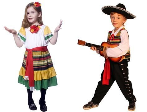 Mexican Traditional Clothing For Kids Funny mexican costumes