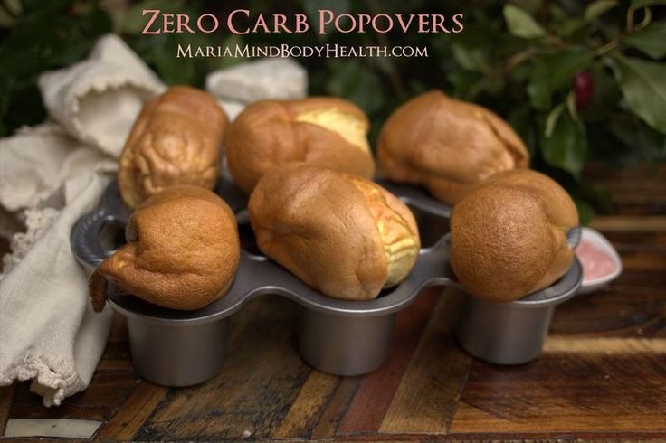 I made these tonight. :) Hubby and I thought they were great, girly will like them doctored up for brekkie. Awesome recipe for a bread craving – of course, the fact that I've loved popovers since I was a little girl doesn't hurt!