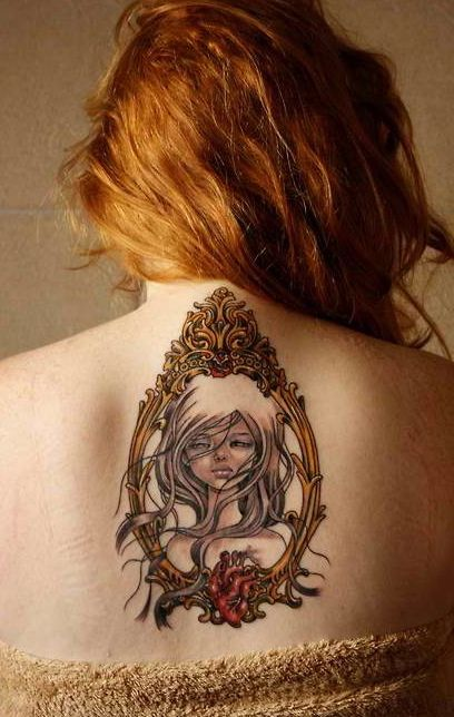 Audrey Kawasaki inspired tattoo. Loveeeeeeee