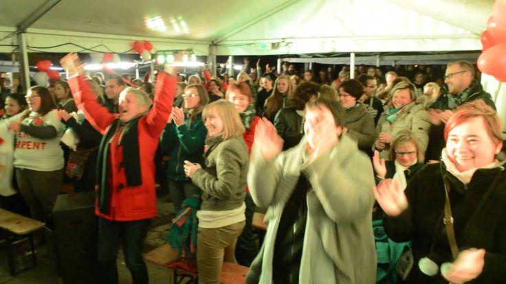La joie à Menugoutte après la victoire de Florent Brack