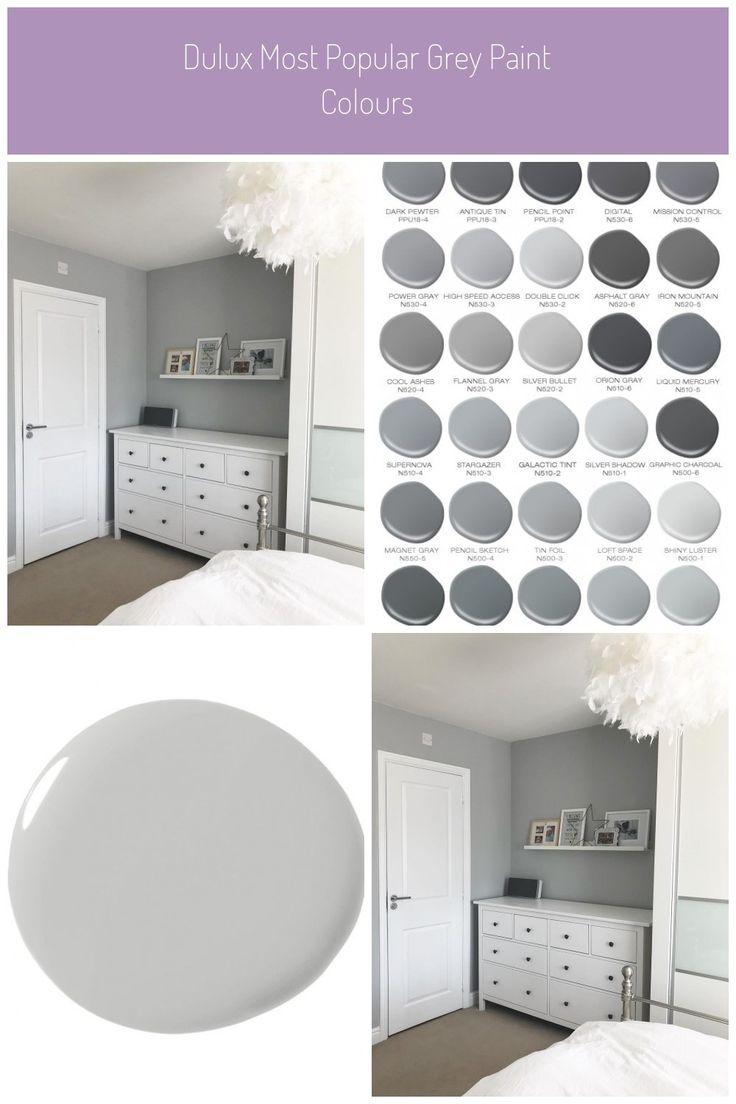 dulux most popular grey paint colours bedroom walls on most popular wall paint colors id=26293