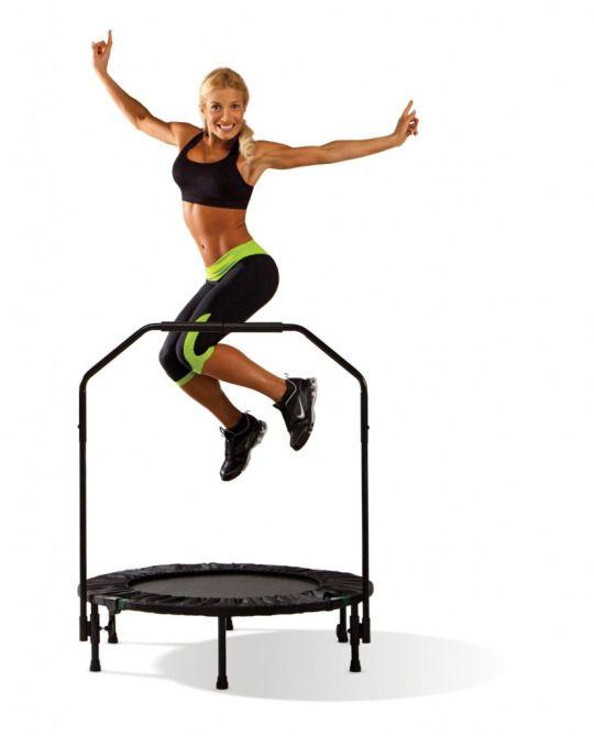 Lo puoi fare in palestra o a casa, è divertente ed efficace: in 15 minuti bruci 200 calorie. Il rebounding, l'allenamento aerobico più trendy, si svolge sul mini trampolino elastico. Decathlon da 36,95euro