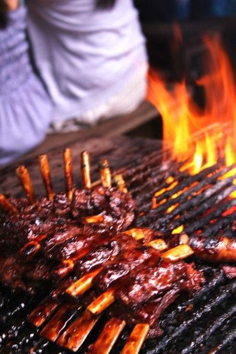 Pork Ribs - Nuri's Ubud Bali