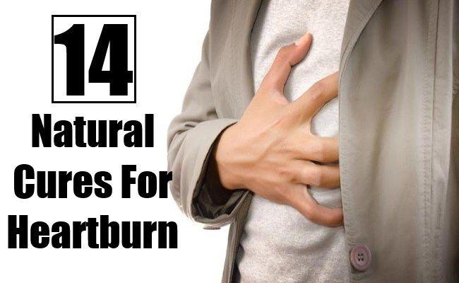 14 Best Natural Cures For Heartburn