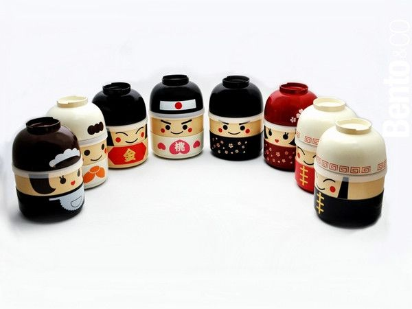 kokeshi bento food bento kawaii bento japonais. Black Bedroom Furniture Sets. Home Design Ideas