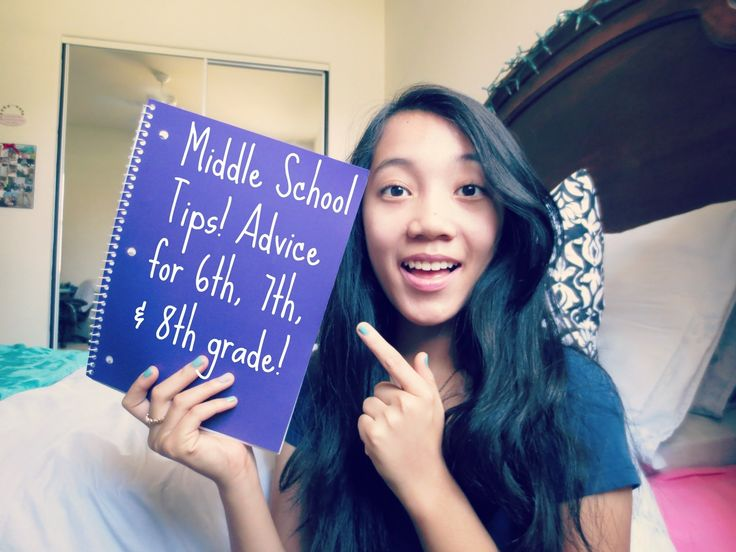 Middle School Tips/Experience! (advice for 6th, 7th, & 8th Grade)