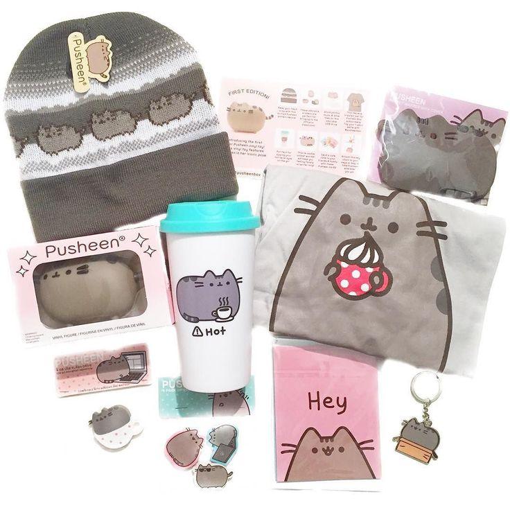 First @pusheen box!!! So cute!!! by kittenplans