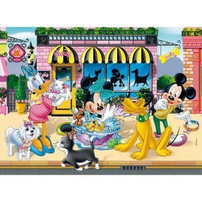 CLEMENTONI - Puzzle 104 pcs maxi - Mickey