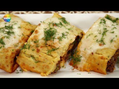 Kıymalı Rulo Patates Tarifi - YouTube