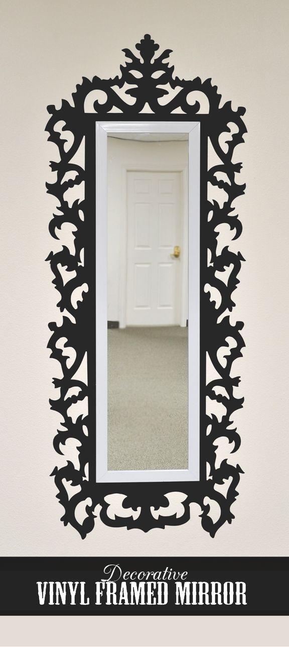 Silhouette Blog  Decorative mirror