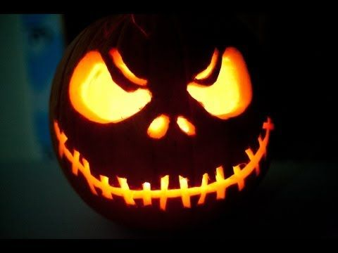 Jack The Pumpkin King Time Lapse Carving