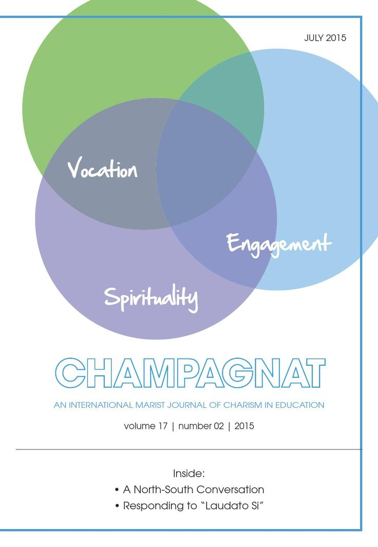 Champagnat Journal - Volume 17 Number 2 - Winter 2015