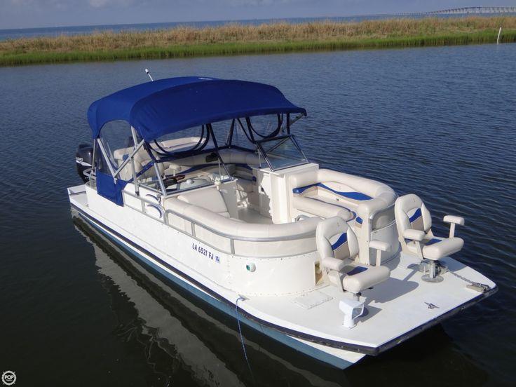10 best boats pantoon images on pinterest boats boat for Best fishing pontoon boat