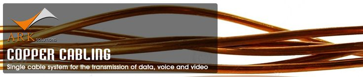 Copper cabling used in camera surveillance, WAP, networking cable and lot of other devices connectivity. Ark-Sol provides services of copper cabling Dubai, copper cabling solutions in dubai.