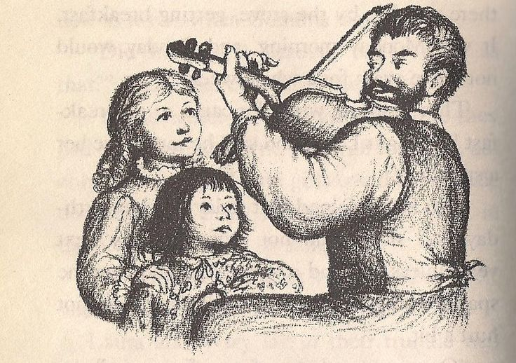 Pa playing the fiddle laura ingalls wilder pinterest for Laura ingalls wilder coloring pages
