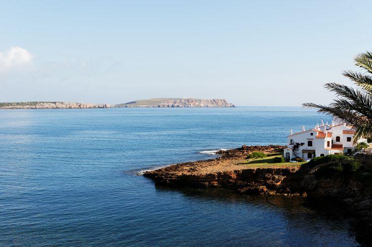 Playas de Fornells en El Mercadal, Islas Baleares
