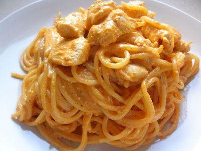 Come to cook: Σπαγγετι με κοτοπουλο και παπρικα