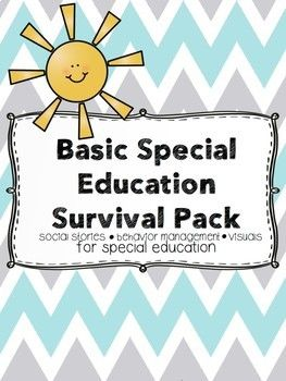 Basic Special Education Behavior Management Pack