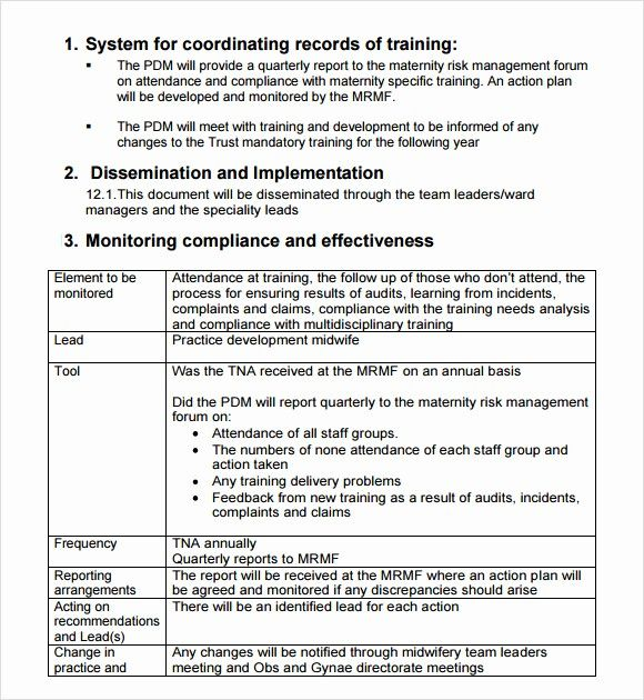 Lovely Sample Training Needs Analysis Template 10 Documents In In 2020 Report Template Document Templates How To Plan