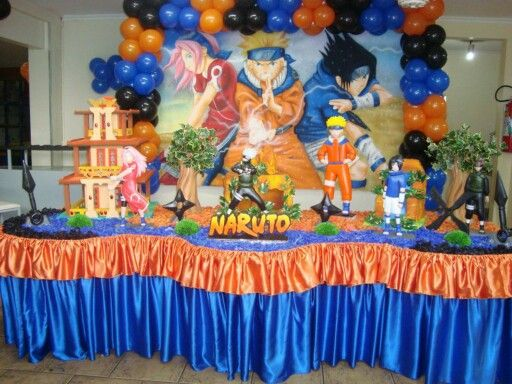 136 best images about naruto birthday party ideas on pinterest