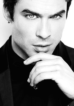 Ian Somerhalder. I'm a proud black woman and love my culture....but it's just something about a white guy.....