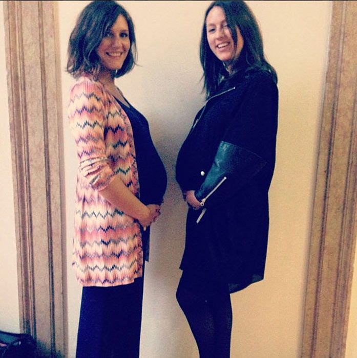 Margherita Missoni shows off her growing baby bump