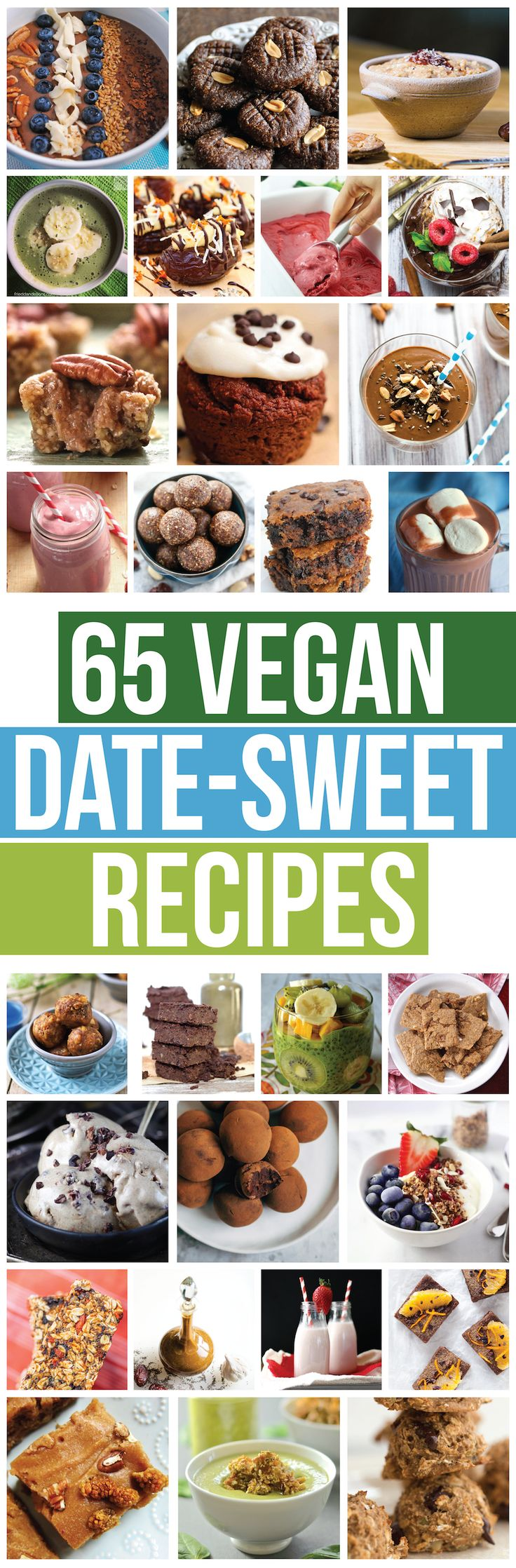 The Ultimate Vegan Date-Sweetened Roundup (65 recipes!)