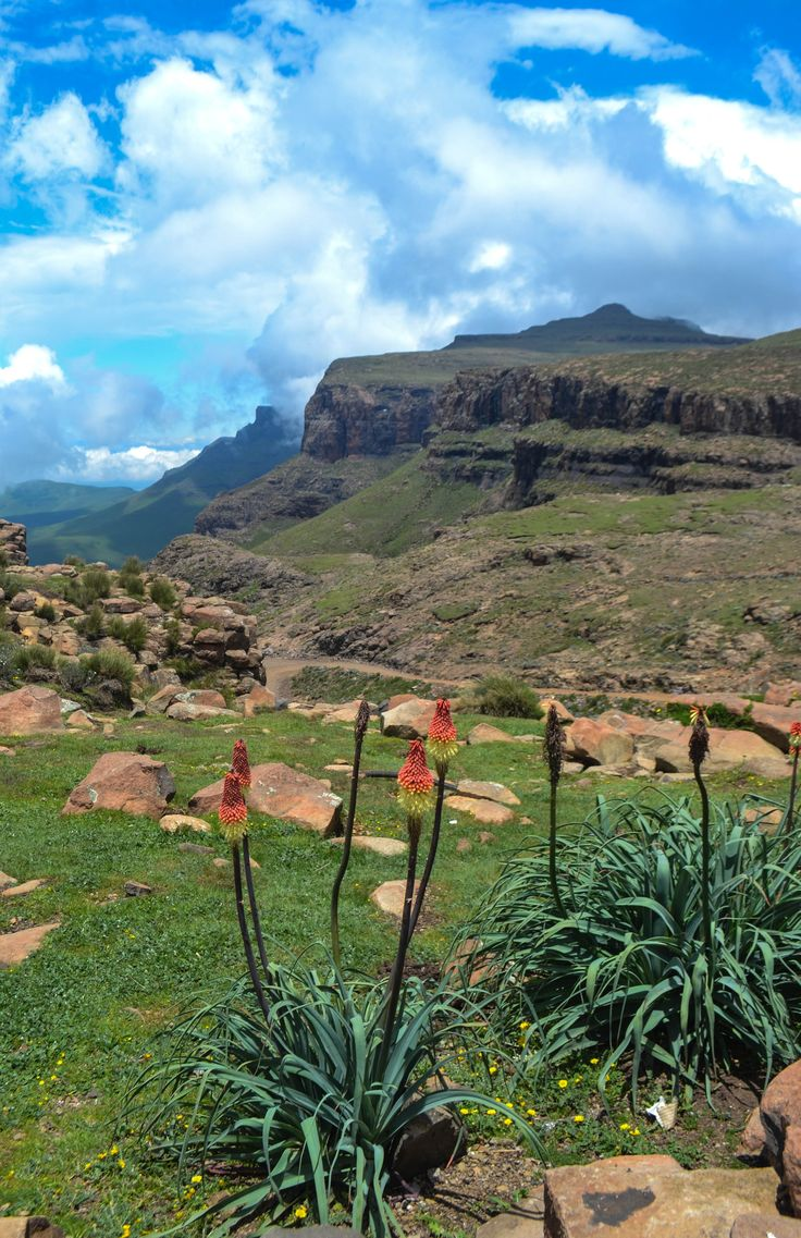 Sani Pass, Lesotho...African Landscape ...beautiful