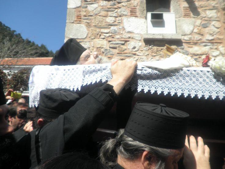 Η ΕΝΟΡΙΑ ΜΑΣ: Ιερά Μονή Οσίου Δαυίδ Ευβοίας: Απεδήμησεν εις Κύριον ...
