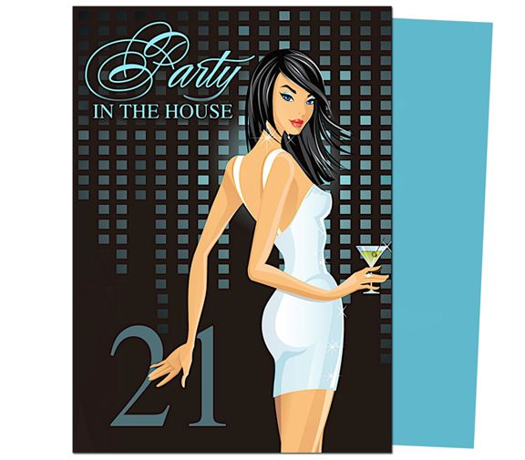 34 best birthday invitation templates for any party images on, Birthday invitations
