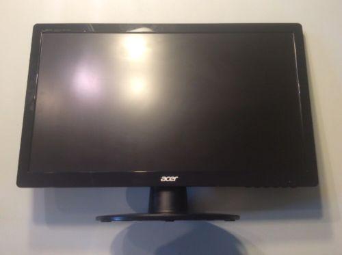 "Acer - 19.5"" LED HD Monitor - Black"
