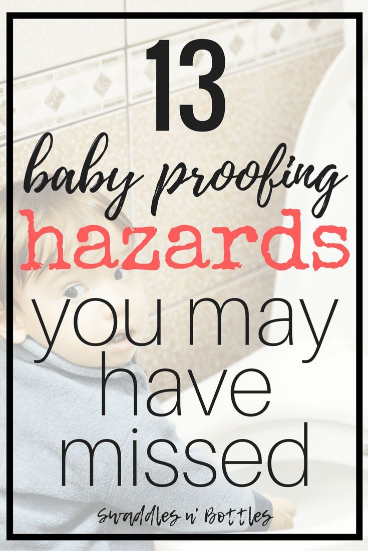 13 Baby Proofing Hazards You May Have Missed. These are the most common risks that are missed when making your home safe for your baby. A must read for all parents!
