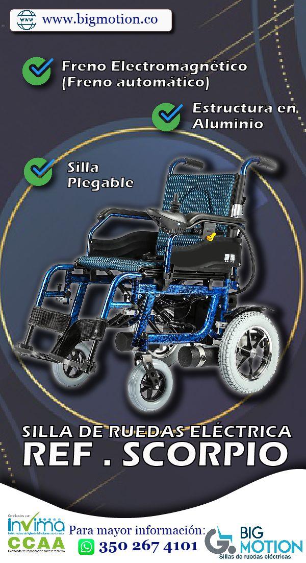 Silla De Ruedas Eléctrica Estructura En Aluminio Con Freno Electromagnético Comunícate Con Nosotros Para Mayor Inf Ruedas Eléctricas Silla De Ruedas Ruedas