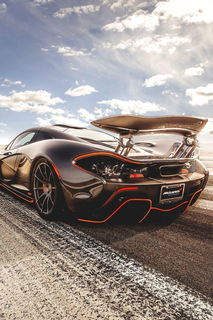 Sports cars mclaren p1