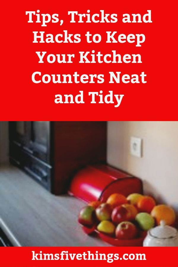 How to organize and declutter your kitchen counters. Advice on how to declutter kitchen counters and keep them that way for…   *** Kitchen Organization   Pinte…