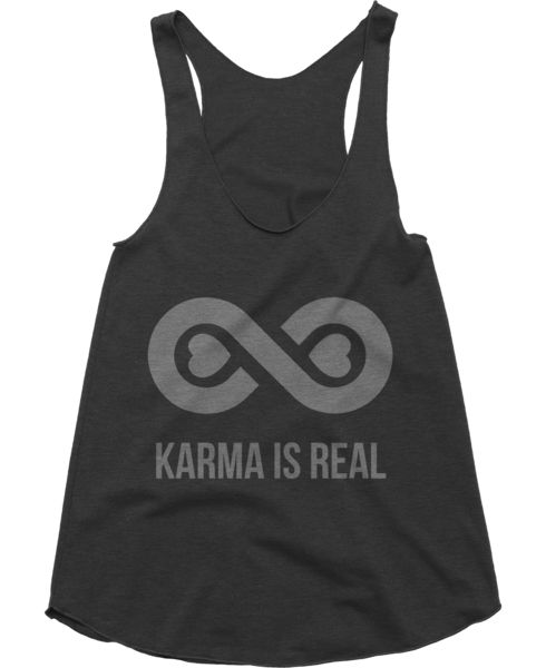 Love this tank top from Today's Special. Karma is Real