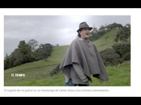EL ORGULLO DE MI PATRIA DE CARLOS VIVES - VER VÍDEO -> http://quehubocolombia.com/el-orgullo-de-mi-patria-de-carlos-vives    VIDEO OFICIAL DE CARLOS VIVES. Desde este sábado en ELTIEMPO.COM se puede encontrar el nuevo video oficial del cantante samario Carlos Vives, 'El orgullo de mi patria', el cual dedica a los pedalistas colombianos y que formará parte de su próximo álbum, Vives. Esta producción...