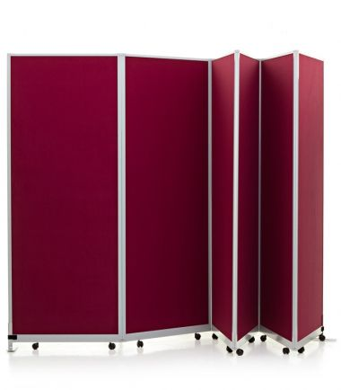 Mobile Portable Partition system in 6 panel kit. #partition #divider #portable