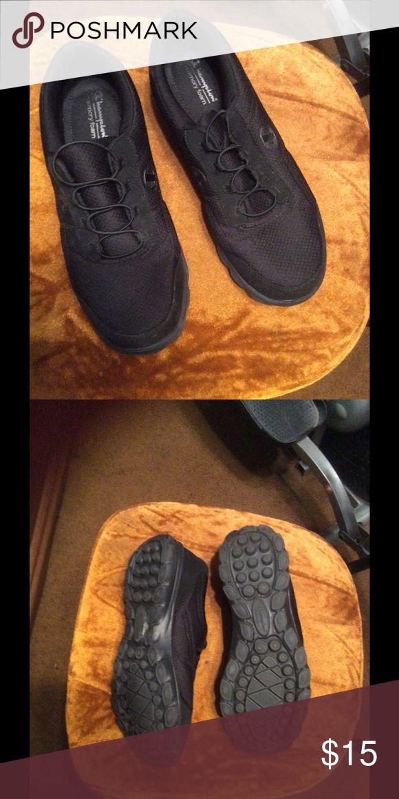 Size 11 w women's champion memory foam sneakers Super soft and comfy women's champion memory foam sneakers. Super lightweight size 11W Champion Shoes Athletic Shoes
